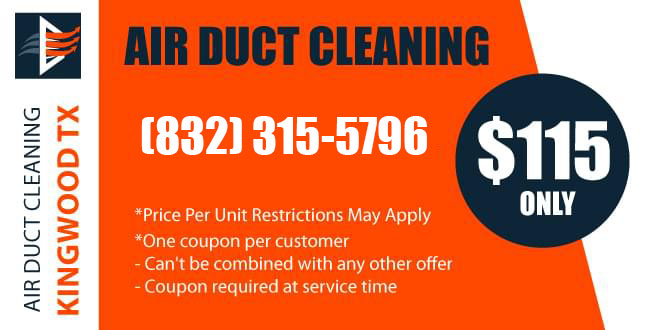 Coupon Air Duct Cleaning Service Kingwood TX