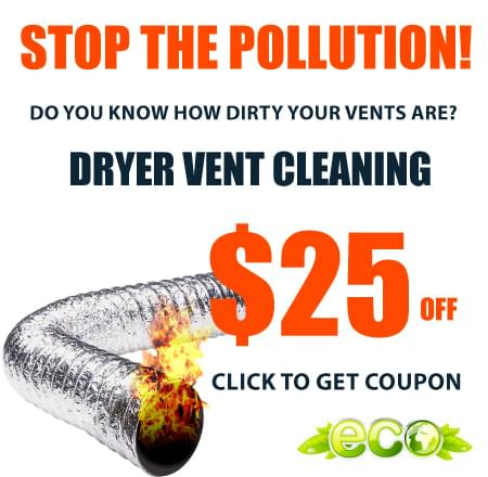 Coupon Dryer Vent Cleaning Kingwood TX